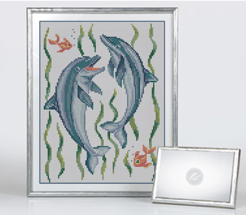 Cross Stitch Pattern PDF Canvas Embroidery By