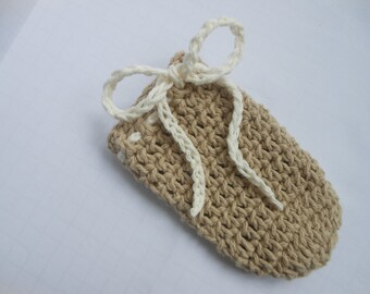 Cotton Crochet Soap Saver