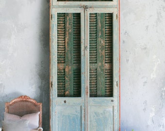 Eloquence Vintage French Doors: Circa 1940 Rustic