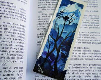 Blue Forest bookmark [ORIGINAL ART]