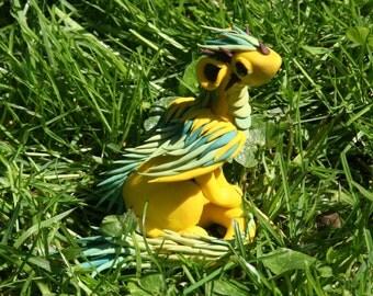 Inor - Yellow and green dragon