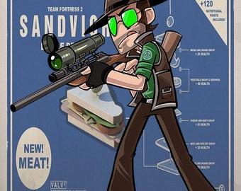 Team Fortress 2 sniper art