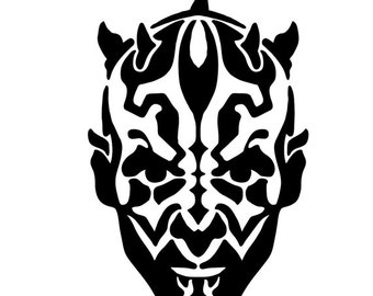 Star Wars Darth Maul Vinyl Decal