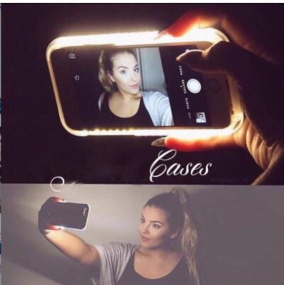 Vanity Light Up Phone Case : Light up phone case perfect for selfies by Nattfashion on Etsy