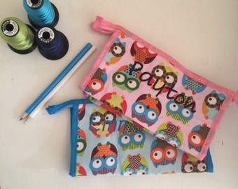 Children's zipper pouch, pencil case, wipes holder, toy pouch