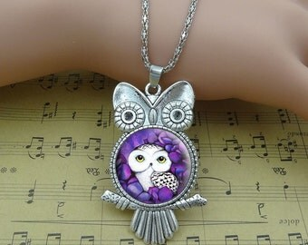 Purple Owl