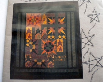 Celestial Quilt Paper Pattern for large-sized quilt - pay it forward, PIF