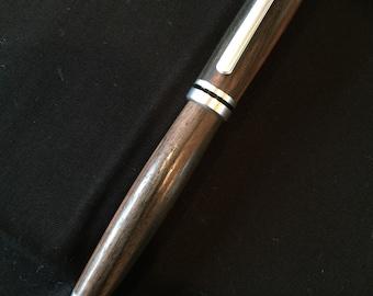 Handmade Pen from Masaccar Ebony wood