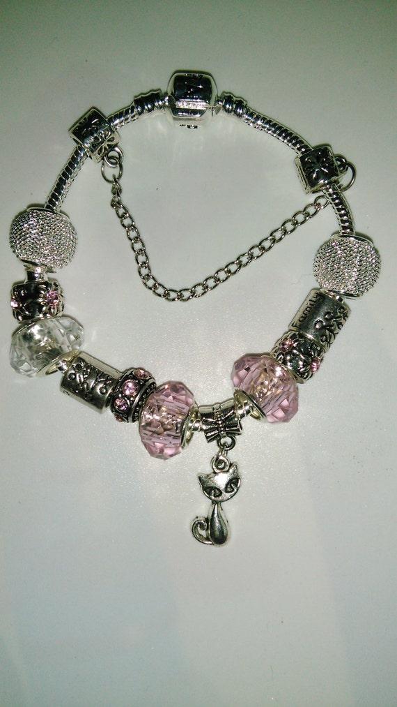 Bracelet type Pandora by mistinguette14 on Etsy