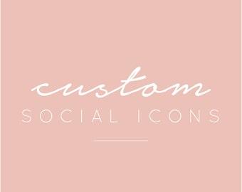 Custom Social Icons