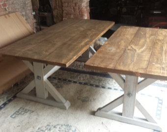 Rustic Reclaimed Wood Hand Made Dining Table