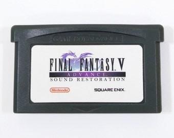 Final Fantasy V 5 sonido avance restauración cartucho GBA para Nintendo Game Boy avance RPG carro Music Remaster - envío gratis!