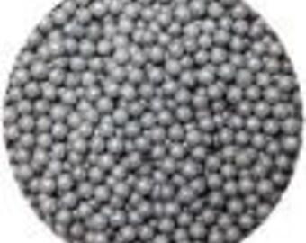 CK Sugar Pearls Silver 3-4mm