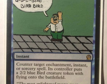 MTG Swan Song - Altered