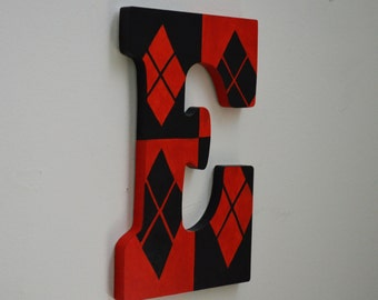 harley quinn 9 hand painted wall letters