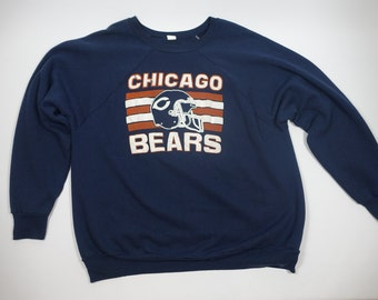 vintage chicago bears etsy
