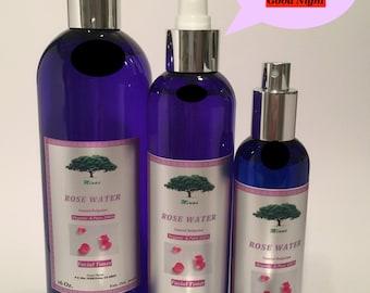 ROSE Water Sprayer Skin Facial Cleanser 16 Oz Organic BULGARIAN Floral Water Sprayer