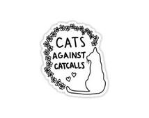 Cats Against Cat Calls Decal