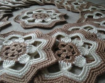 Tea-cloth, napkins for tea , a set of napkins , lacy napkins , placemats crochet , holiday cottage , handmade, kitchen decorations