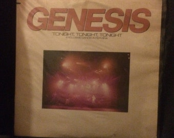 Genesis Tonight tonight tonight (Interview with Press Release)
