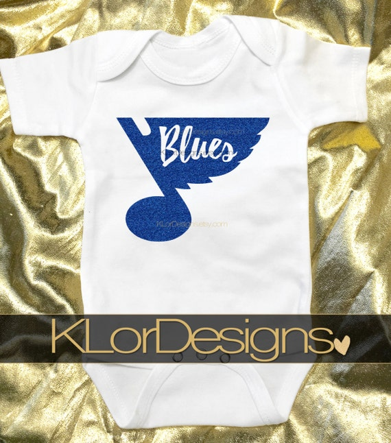 St Louis Blues baby outfit stl blues stl baby outfit STL
