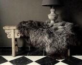 Natural Gray Sheepskin