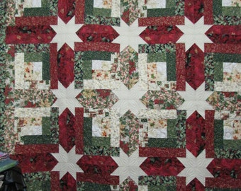 Quilted Christmas Throw