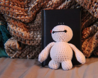 Made-to-Order Baymax Crochet Plush