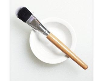 Facial Mask Set. Mask Brush and Bowl. Facial Mask Brush. Facial Mask Bowl. Skicare Ritual.