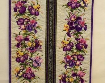 Quilted Floral Table Runner