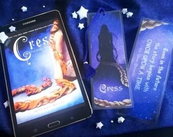 Cress Bookmark - The Lunar Chronicles - Handmade