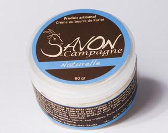 Crème au Beurre de Karité-Huile Essentielle-soins de peau-Beurre réparateur, bébé, femme enceinte, peau sèche