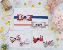 St. Louis Cardinals Headband, Baby Headband, Gift for Cardinals Fan, Infant Headband, Bow Tie Bows, Pinwheel Bows, MLB Headband, Baseball