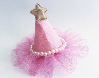 Birthday Princess Hat Clip