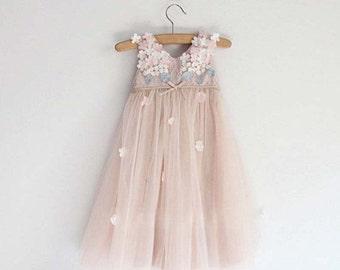 Princess Flower girl Dress Full Length