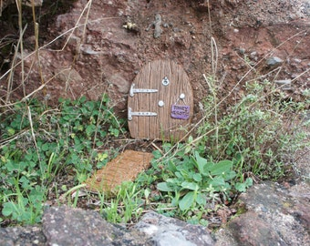FAIRY GROTTO DOOR - Resin Suitable for Outdoors - New
