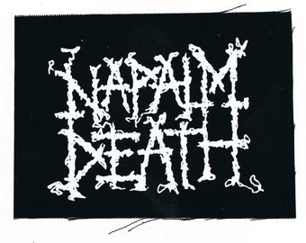 Napalm Death Band Patch