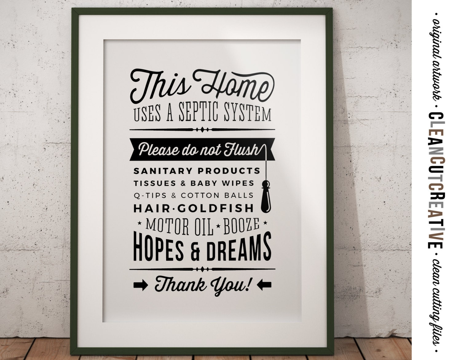 Bathroom sign septic system do not flush hopes dreams for for 1 bathroom septic system