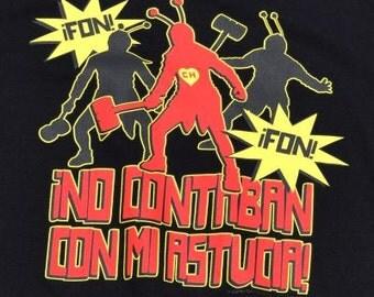 El Chapulín Colorado T Shirt, Shirt, Tee , Mexican Television Icon