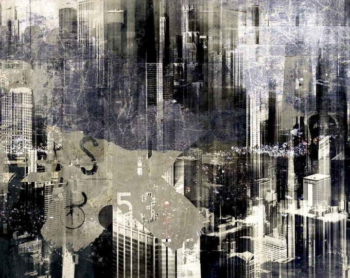 CHICAGO SKY I by Sven Pfrommer - Artwork ready to hang