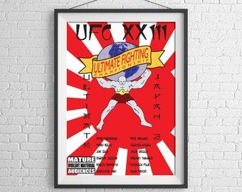 UFC 23 Restored Poster