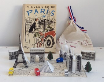 Miniature Paris Landmarks ( in a bag!)