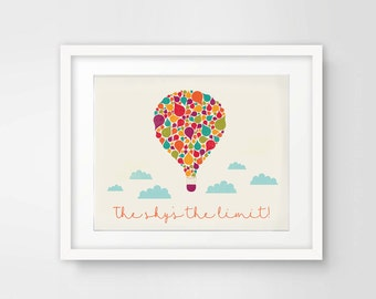 The Sky's the Limit Printable