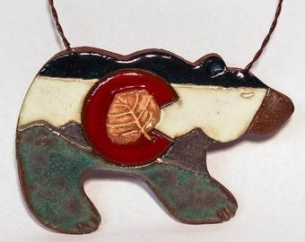 Colorado Bear Ornament