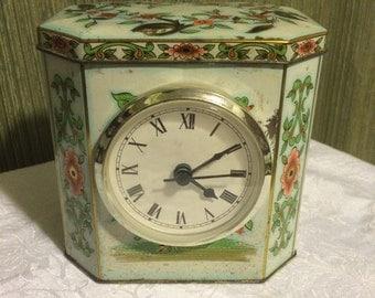 Vintage Tin Clock