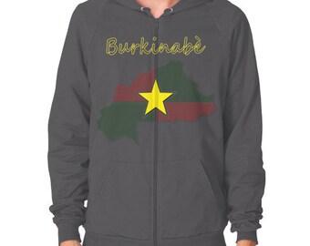 Burkinabe Zip Hoodie