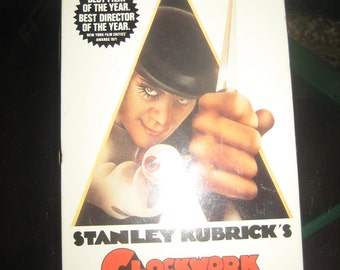 CLOCKWORK ORANGE (VHS) 1971