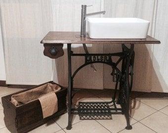 Sewing Machine bathroom
