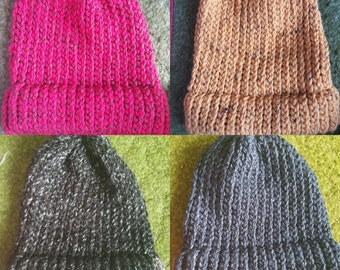 Heathered Knit Hat