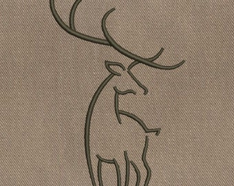 Deer - MACHINE EMBROIDERY DESIGN